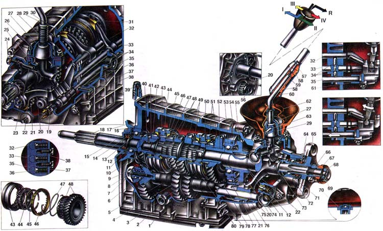 Фото №8 - как располовинить коробку передач ВАЗ 2110